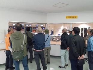 渡刈クリーンセンターの見学
