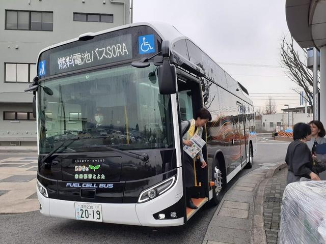 燃料電池バスSORA