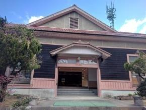 1938年に建てられた講堂