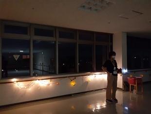 7階展望室 イルミネーション